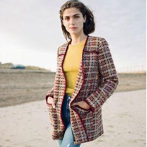 NEW Anthropologie Harlequin Tweed Blazer - ETT:TWA